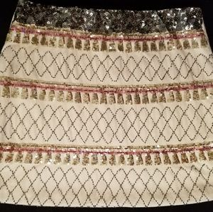 Sequence Mini Skirt